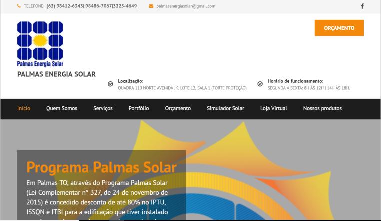 Site Palmas